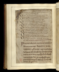 Calendar and Scribal Note, in the Regularis Concordia